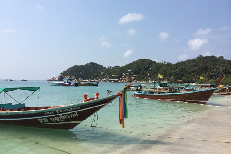 Bangkok – Koh Tao – Koh Phangan – Koh Samui – Krabi